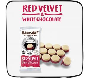 Hands Off My Chocolate • Red Velvet & White Chocolate