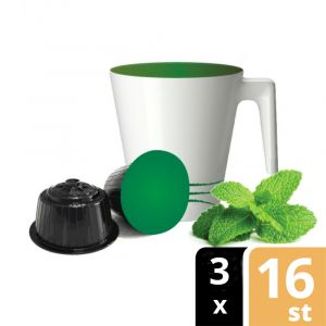 88° Caffè • Munt Thee Cups voor Dolce Gusto (Koffiecups)